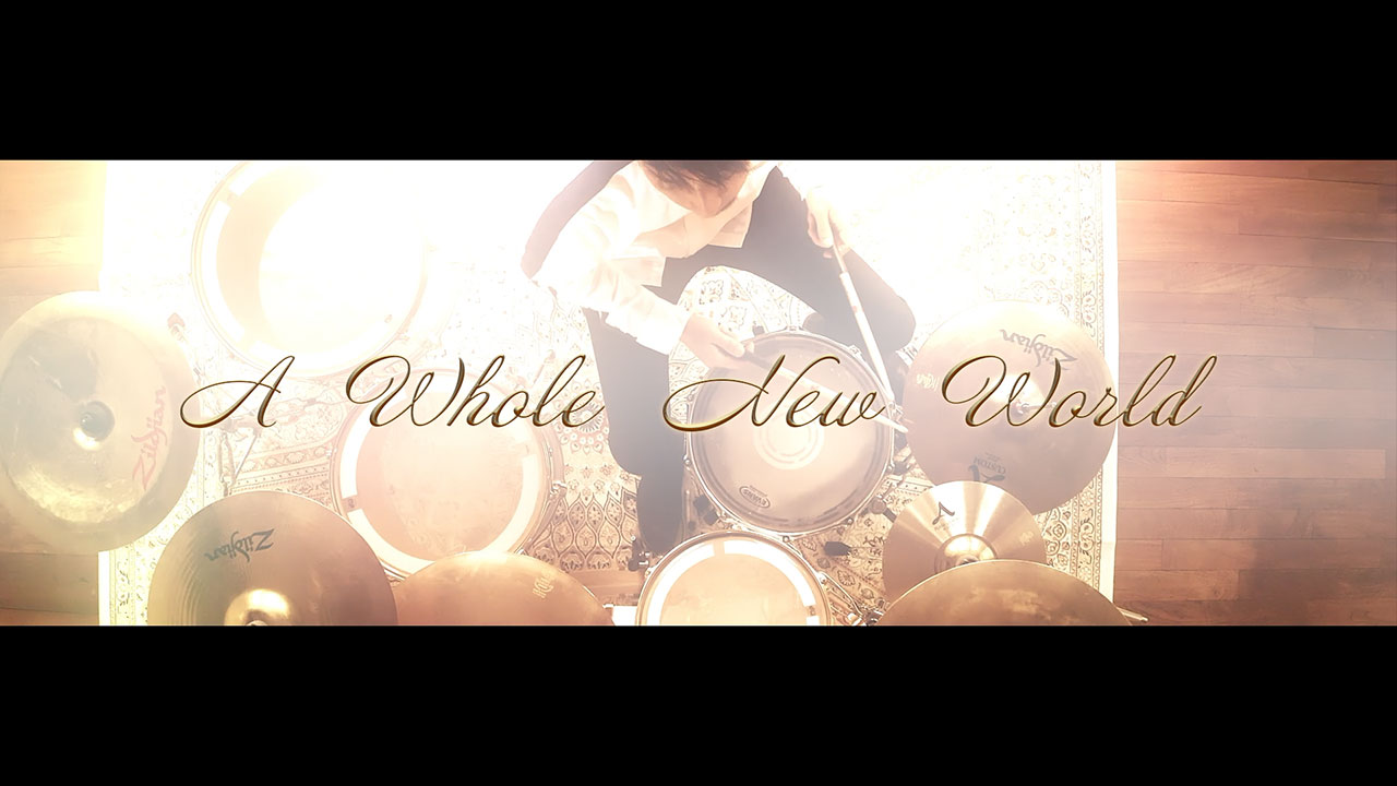 iMagic. shingo / Drum Video / Aladdin - A Whole New World