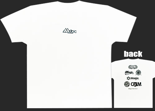 ALBUM iMagic. Tour Tシャツ(白)